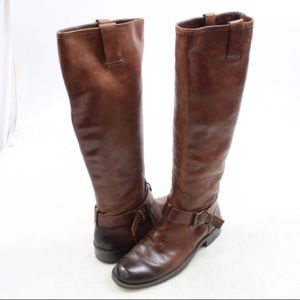 Vince Camuto Brown Knee High Boots